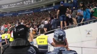 Драка болельщиков «Локомотива» и «Урала» в финале Кубка России