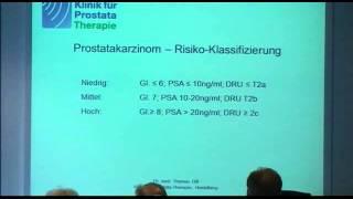 Prostata-Krebs: Gezielte Therapie nach exakter Diagnostik