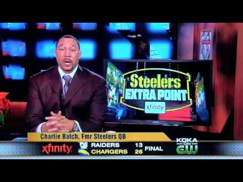 Charlie Batch discusses who he thinks is the Pittsburgh Steelers team MVP