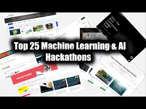 Top 25 Machine Learning & AI Hackathons To Move To Data Science