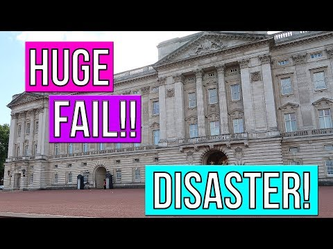 BUCKINGHAM PALACE HUGE FAIL!! BUCKINGHAM PALACE DISASTER!! LONDON ENGLAND TRAVEL VLOG!