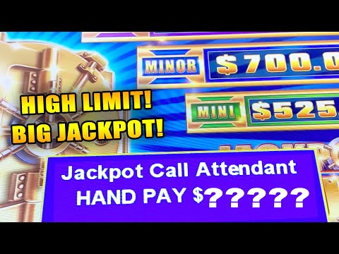 IS THIS THE BIGGEST JACKPOT YOU'VE EVER SEEN? ★ JACKPOT VAULT ➜ HIGH LIMIT