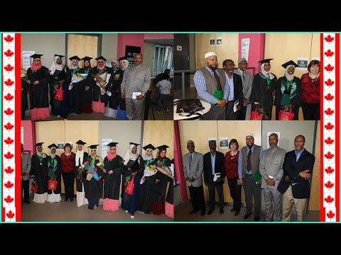 The graduation of Ottawa Islamic School 2016 @Algonquin College