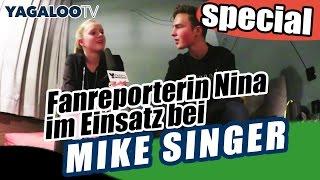 MIKE SINGER im Interview bei YAGALOO.TV-Fanreporterin NINA