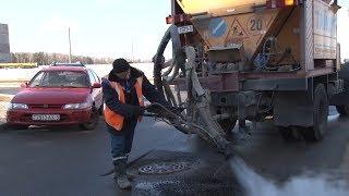 Вопрос о дорогах: ямочный ремонт в Солигорске