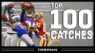 Top 100 Catches in NFL History!