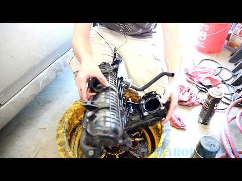 2010-2015 Toyota Prius Intake Manifold cleaning