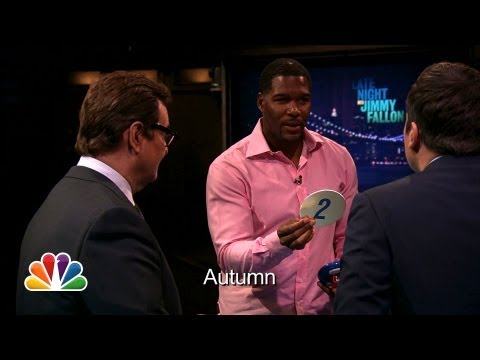 Catchphrase with Michael Strahan and Demi Lovato (Late Night with Jimmy Fallon)