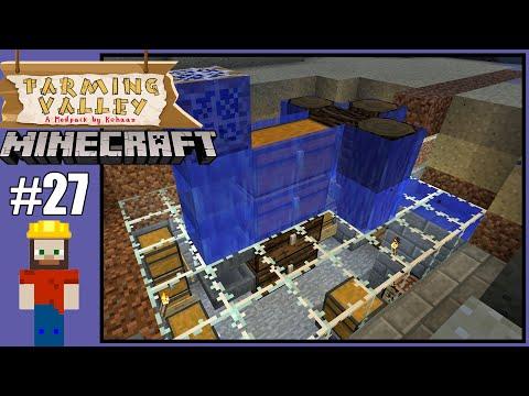 Farming Valley #27 - Minecraft Series - Automatic Fish Farm