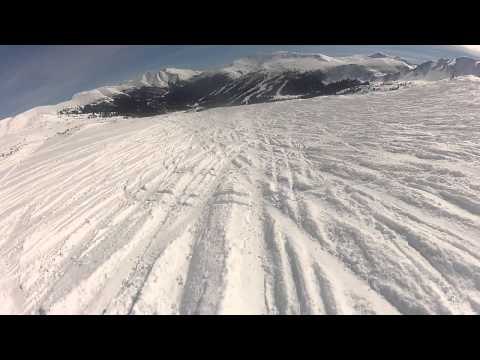Loveland Ski Area - Chair 9 and then down