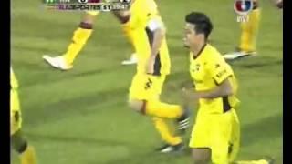 Rubio Ñu 0 - 2 Cerro Porteño - Gol Dos Santos - Clausura 2011 - Fecha 1
