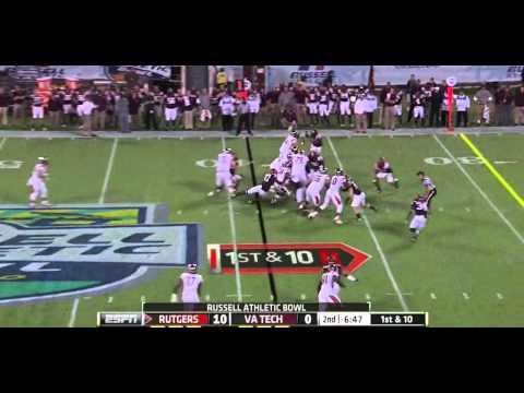 Bruce Taylor vs Rutgers 2012