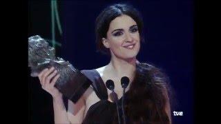 Paz Vega gana el Goya a Mejor Actriz Revelación en 2002