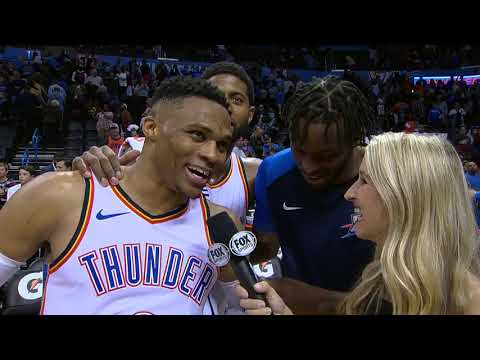 Russell Westbrook Postgame Interview - Mavericks vs Thunder | December 31, 2018 | 2018-19 NBA Season