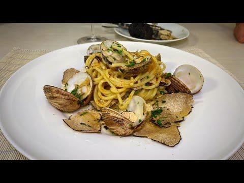 Spaghetti ai Tartufi di Terra e di Mare