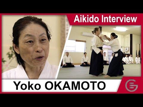 Aikido - Okamoto Yoko, 6th Dan Aikikai (Interview w/ English subtitles)