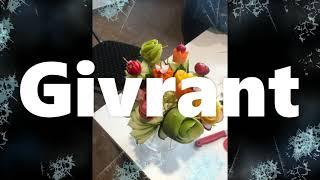 Petite vidéo avec les bouquets de légumes