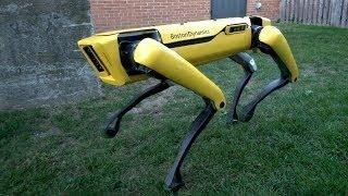 정말 놀라울 정도로 발달한 스팟미니 로봇개 기술 The New SpotMini RobotDog Tech.