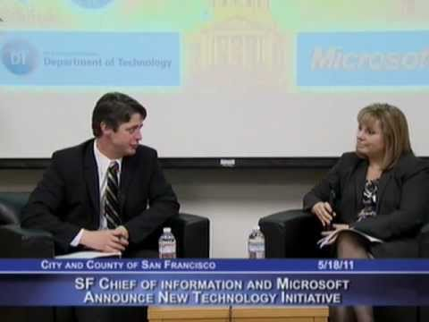 SF Chief Information Officer & Microsoft Announce New Technology Initiative