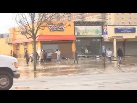 Hurricane Sandy: Far rockaway. New York