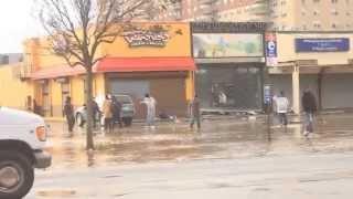 Hurricane Sandy: Far rockaway. New York