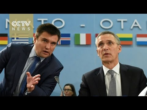 NATO urges continued sanctions on Russia over Ukraine