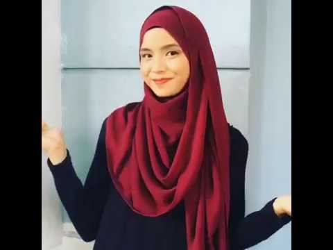 Mira filzah inspired tutorial shawl wideshawl