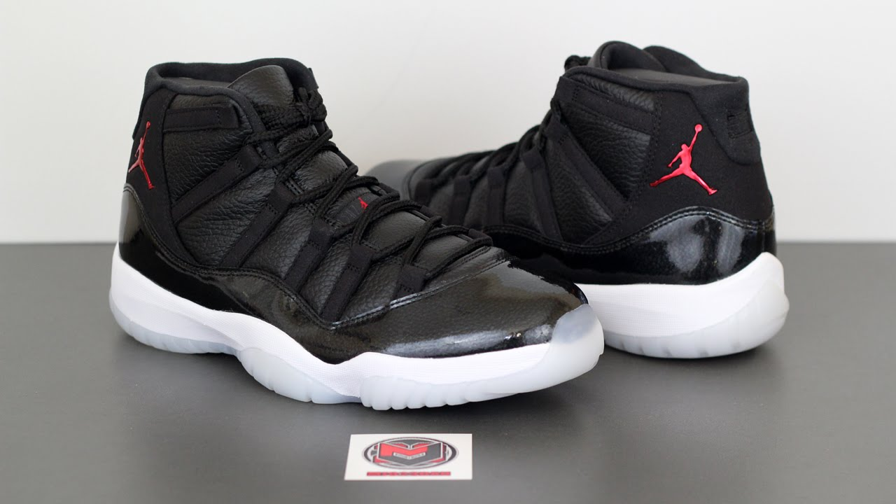 size 40 da8f0 1bff3 The Air Jordan 11 XI Retro 72-10 - YouTube