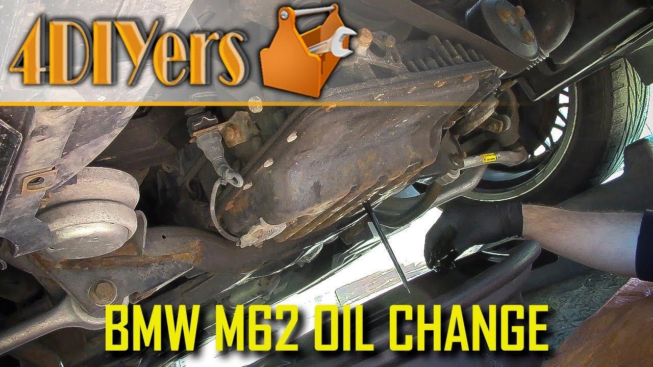 DIY: BMW 540i E39 or 740i E38 M62 V8 Engine Oil Replacement