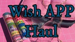 Wish App Haul//Craft & Washi Haul - April 2016 | I