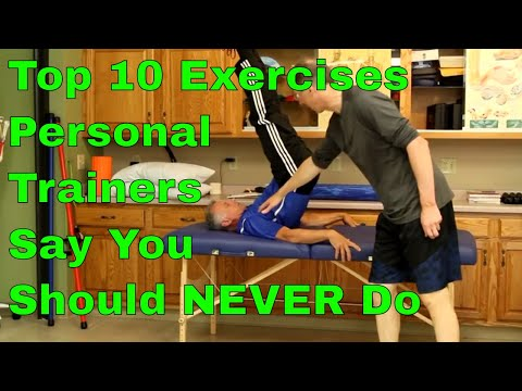 Top 10 Exercises Personal Trainers Say You Should NEVER Do. National Federation of Personal Trainers