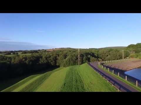 Dji Phantom 3 Advanced, Abbey village, Blackburn, Roddlesworth reservoir, Lancashire