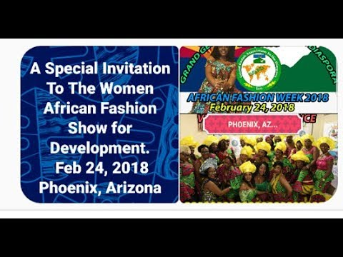 GGAD WOMEN AFRICAN FASHION SHOW