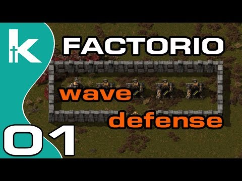 Factorio 0 16 Wave Defense Ep 2 | Take 2 | Refining and Flame Throwers by  KitchsVideos