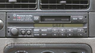 VW or Audi  How to Enter a Radio Code - Radio display reads SAFE - DIY Repair thumbnail