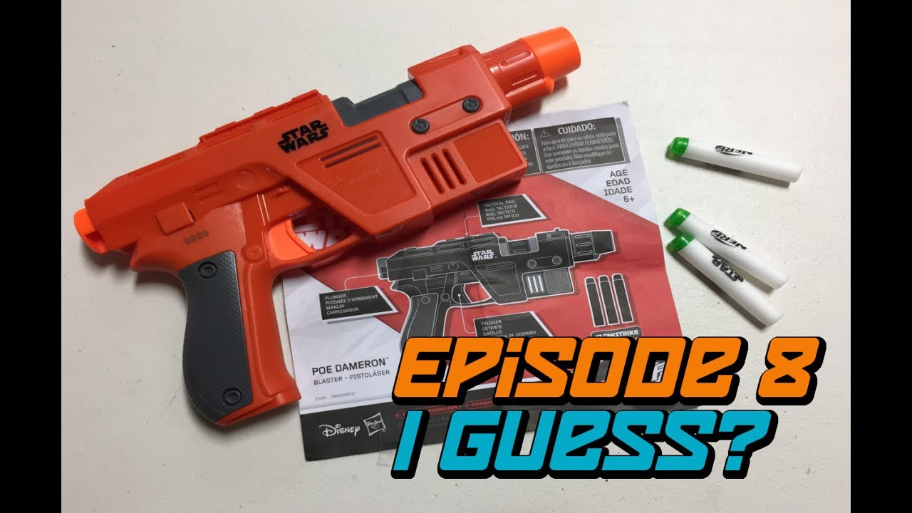 NERF Star Wars: The Last Jedi Poe Dameron Blaster Review