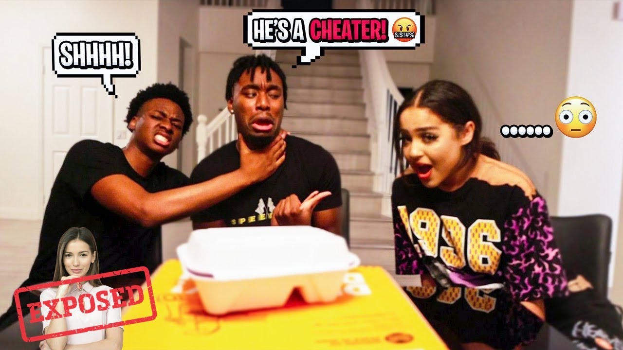 EXPOSING MY LITTLE COUSIN FOR BEING A CHEATER In Front of his CRUSH! *BIGGEST MISTAKE*