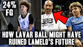 The Mistake Lavar Ball Made That Could Ruin Lamelo's Future
