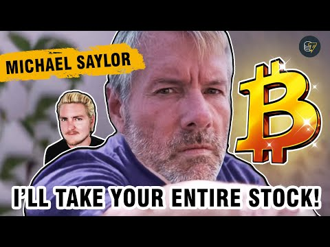 Why you shouldn't sell your Bitcoin for the next 100 years | Interview with Michael Saylor