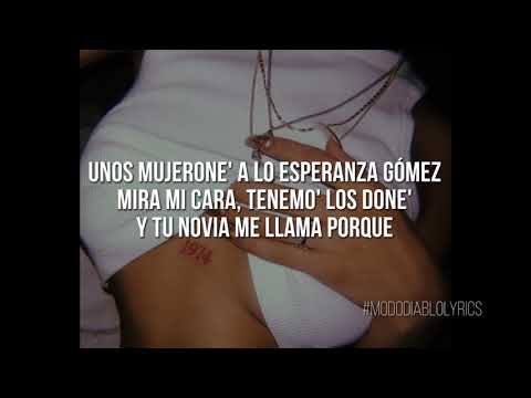 Mi Cubana Remix - Eladio Carrion X Khea X Cazzu X Ecko // ( Letra - Lyrics ) OFICIAL