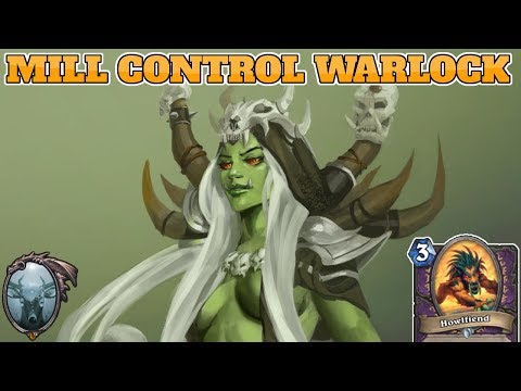 [Legend] Mill Control Warlock | Rastakhan's Rumble | Hearthstone Guide How To Play