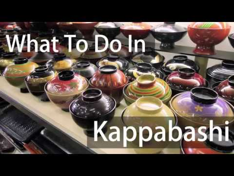 Kappabashi - The Best Place To Look For Souvenirs!
