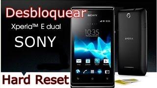 Desbloqueio Sony Xperia C 1604 Dual - HARD RESET - FVM