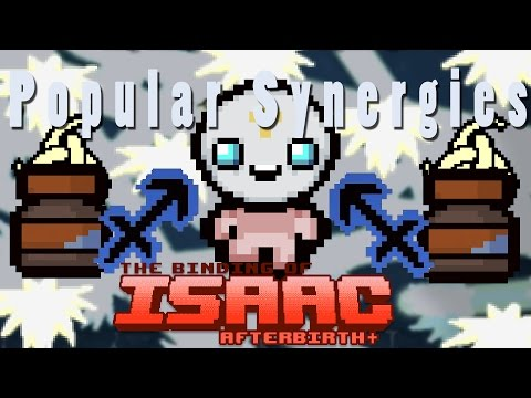 The Binding of Isaac Afterbirth Plus | Holy Cannons | Popular Synergies!