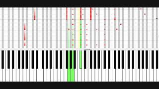 How to play Souvenir (by OMD) Piano, slow