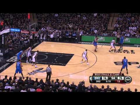 Oklahoma City Thunder vs San Antonio Spurs Game 1 | May 19, 2014 | NBA Western Finals 2014