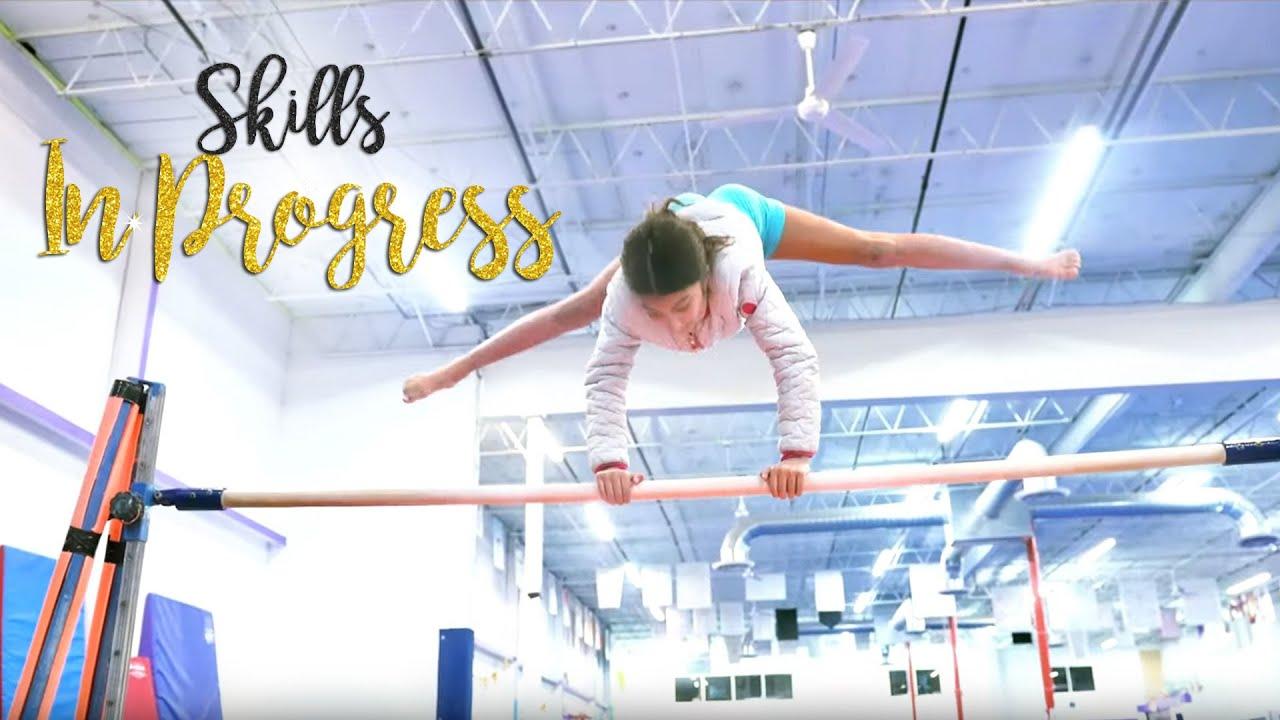 Gymnastics Skills in Progress| Harmony SGG