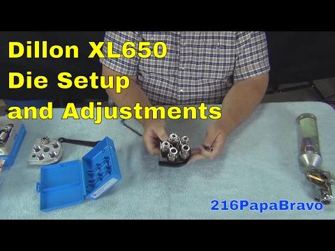 XL650 Pistol Die Setup 2014