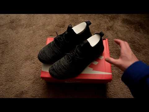 Nike Roshe Two Flyknit V2 Unboxing (Black/Black Anthracite)
