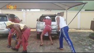 Watch Toyin Abraham Mr shaggi and Frank Donga On Set Nigerian Entertainment